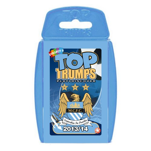 Top Trumps - Manchester City 2013/2014 [Spielzeug]
