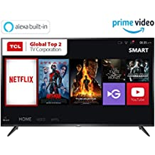 TCL 107.88 cm (43 inches) 4K Ultra HD Smart LED TV 43P65US (Black) (2019 Model) | Built-In Alexa