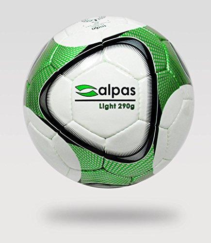 10x alpas Leichtbälle / Leichtball / Fußbälle Gr.5 - 290g