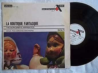 SDD 109 Rossini-Respighi La Boutique Fantasque Israel PO Georg Solti LP