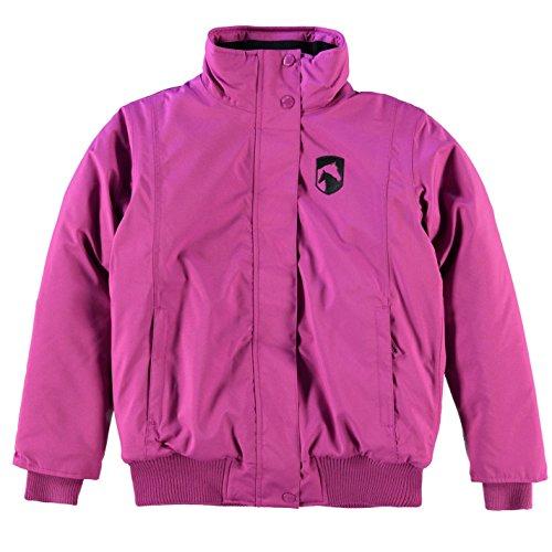 Requisite Kinder Maedchen Blouson Jacke Reitjacke Reitsport Langarm Warm Pink 13 (XLG)