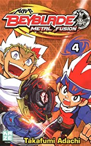Beyblade Metal Fusion / Masters / Fury Edition simple Tome 4