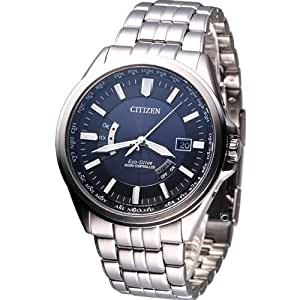 Citizen Eco-Drive Analog Blue Dial Men's Watch - CB0011-51L