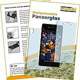2x mumbi Panzerglasfolie Sony Xperia M4 Aqua Glasfolie