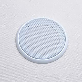 Ainstsk Subwoofer Speakers Mesh Case,Car Stereo Subwoofer Speakers Mesh Design Cover/Grill Net Protective Mesh Case Dust Cover 4 Inch/5 Inch/6.5 Inch/8 Inch Car Audio Speaker Grills(8inch,White)
