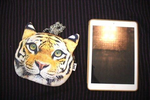 Teeya donne animale serie portamonete portafogli cluth borsa borsa leone catena borsa