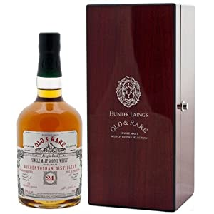 Auchentoshan 24 Year Old 1991 - Old & Rare Platinum Single Malt Whisky from Auchentoshan