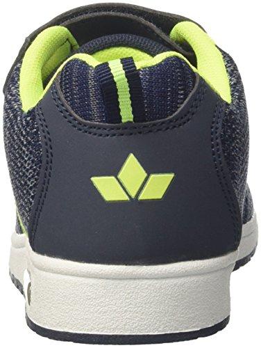 Geka Unisex-adulto Jacky Vs Sneaker Blu (blu Scuro / Grigio / Limone)