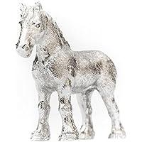 Cavallo Shire Made in UK, Collezione Statuetta Artistici Stile animale