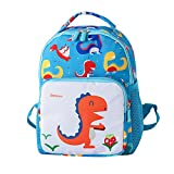 AMUSTER Sac à dos fille garçon enfant dessin animé dinosaure animal sac à dos sac pour tout-petitst école sacs (G)
