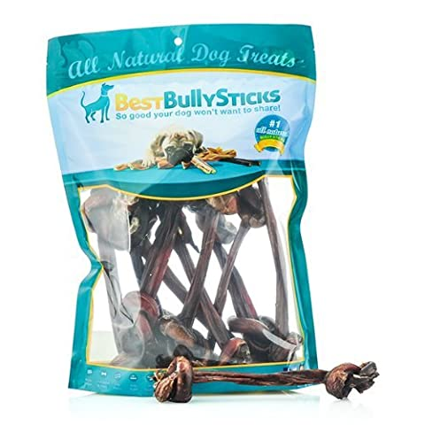 Bully Stick Knotted Bone - 10 pack