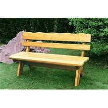 TPFGarden Gartenbank DRIEBURG 150cm 3 Sitzer Aus Kiefer Massiv | Holzbank  Kiefer | Gartenset Möbel | Garten Möbel Set | Gartenmöbel Set | Gartenbank  Kiefer ...