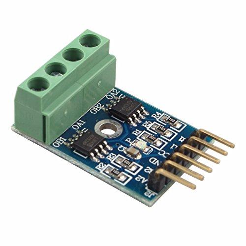 LIUXINDA-MK Sehr praktische L 9110 S Dual-Channel-H-Brücke Schrittmotor Dual DC-Motortreiber Controller Board Modul für Arduino -