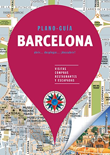 Barcelona (Plano - Guía): Visitas, compras, restaurantes y escapadas (Plano - Guías) por Autores Gallimard Autores Gallimard