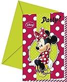 Moderne Wimpelkette/Flagenkette mit Aufdruck von Disneys Minnie Maus, 2,6m lang