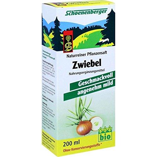 Schoenenberger succo naturale di cipolla 200 ml