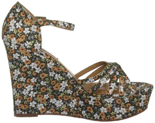 Pepe Jeans London COR-251 A, Sandali donna Beige (Beige (Daisy Flowers))