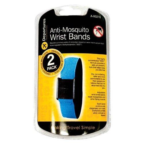 , 2 unidades anti-Mosquito Repelente de insectos DEET juego de pulseras 2 semanas