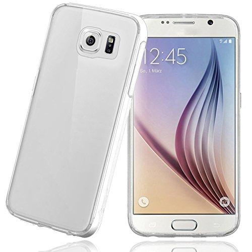 Samsung Galaxy S6 Hülle, Bingsale Ultra Slim TPU Case Samsung Galaxy S6 Silikon Schutzhülle (transparent, Samsung Galaxy S6)