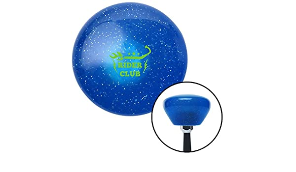 Red Dolphin American Shifter 26790 Blue Metal Flake Shift Knob