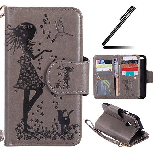 for-google-pixel-casemagnetic-pu-leather-flip-wallet-case-bulit-in-9-card-slots-girl-flower-cat-bird