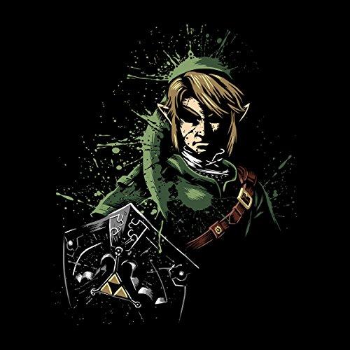 Zelda Link Splatter Men's Vest Black