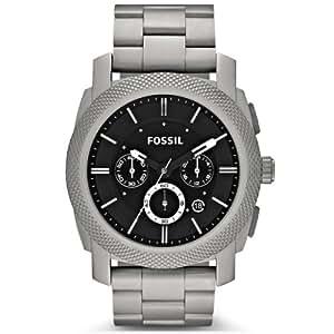 Fossil Herren-Armbanduhr XL Chronograph Quarz Titan TI1002