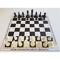 HenRal-Schachbrett-schachspiel-Schach-Set-Schach-Chess-Set-Unique-Design-Eco-Chess-Board-Countries-Pieces-Field-40mm-Brown-EINZIGARTIGES-KLAPPBAR-SCHACHBRETTSPIEL-Set-N4-BRAUN HenRal Schachbrett schachspiel Schach Set Schach Chess Set: Unique Design Eco Chess Board Countries + Pieces. Field 40mm, Brown – EINZIGARTIGES KLAPPBAR SCHACHBRETTSPIEL Set N4 BRAUN -