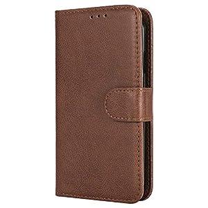 Bear Village® Hülle für Samsung Galaxy S4, Flip Leder Handyhülle Tasche mit Kartensfach, TPU Innere Ledertasche, 360 Grad Voll Schutz, Blau