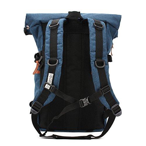 Wewod 2017 Multifunktions Große Kapazität Abriebfestigkeit Trekkingrucksack Wanderrucksack Outdoor Reisen Wandern Rucksack Mit Hüftgurt Für Frauen Männer Blau