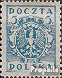East-silesia.Regular issue 1 unmounted mint / never hinged 1922 clear brands (Stamps for collectors)