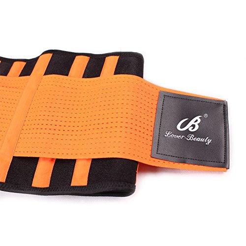 Lover-Beauty-Cintura da allenamento, da donna, vita Body Shaper Hourglass Shaper per cintura Orange