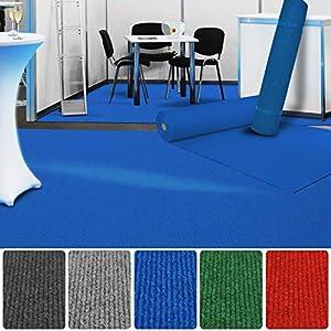 etm Premium Messeteppich Meterware | Eventteppich als Hochzeitsläufer, Premierenteppich, VIP-Teppich UVM. | viele Farben und Größen | Hellblau - 200x3000 cm