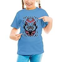 Three Monkeys Animal Mix Animals Collection Girls Classic Crew Neck T-Shirt