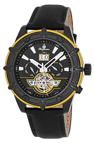 Burgmeister BM343-622C - Reloj de pulsera hombre, color Negro