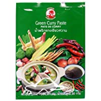 12er Pack COCK Brand Grüne Curry Paste [12x 50g] Green Curry Paste