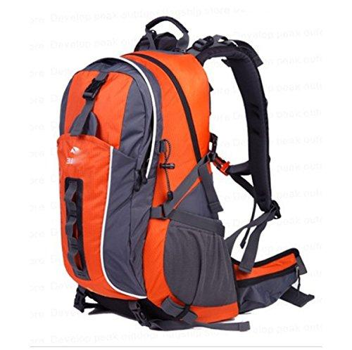 Pacchetto Escursionismo Impermeabile Dello Zaino Alpinista Esterno,Red Orange