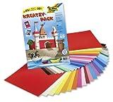 folia 677 - Kreativpack Tonpapier/Fotokarton, 23 x 33 cm, 50 Blatt, je 25 Farben Test