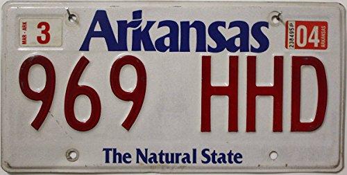 USA Nummernschild ARKANSAS ~ US Kennzeichen License Plate ~ Blechschild
