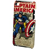PDP IP-1379 Coque rigide à clipser pour iPod Touch 4 Captain America Newspaper