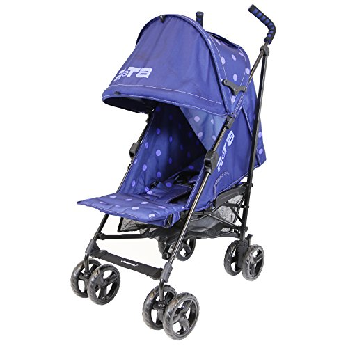 Zeta Vooom – Navy Dots (2017) Stroller Buggy Pushchair From Birth 51hKtFUxvnL