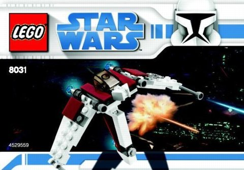 LEGO Star Wars: Mini V-19 Torrent Fighter - 8031 (Beutel) - 66-tlg