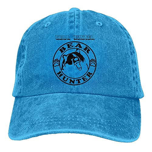 Daisy Evans Baseball-Mütze Bear Hunter Unisex Adjustable Sport Hat