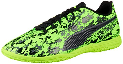 Puma One 19.4 IT, Scape per Sport Indoor Uomo, Verde (Green Gecko Black-Charcoal Gray), 44 EU