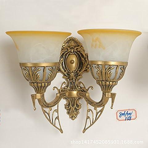 Wandleuchte Im Europäischen Stil, Wand Lampe Nachttischlampe Wandleuchte Led Steel
