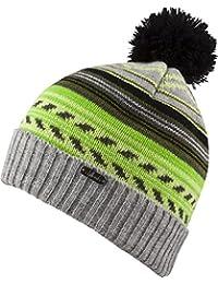 Sina Hat, moderne Strickmütze mit Bommel,