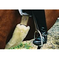 ENGEL GERMANY protector para cincha piel de cordero 80x15cm piel natural (Bagu)