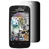 atFolix Blickschutzfilter für Technisat TechniPhone 4 Blickschutzfolie - FX-Undercover 4-Wege Sichtschutz Displayschutzfolie