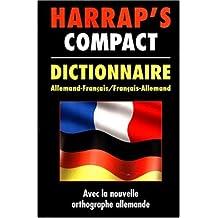 Harrap's Compact Dictionnaire [Allemand-Français / Français-Allemand]