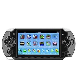 """QUMOX 4.3""""Portable 10GB 32Bit palmare PSP Game Console Player Giochi 100 integrati"""